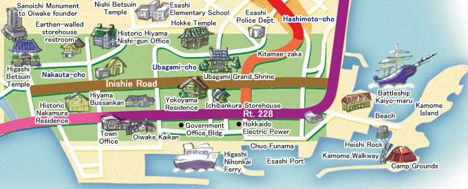 inishie road map