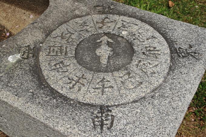 厳島神社の手水石